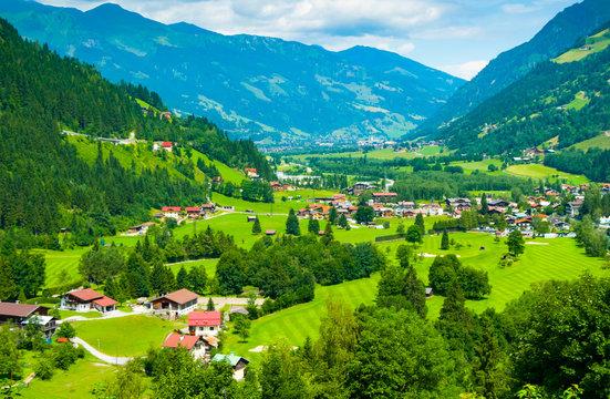 Gastein Valley from Bad Gastein