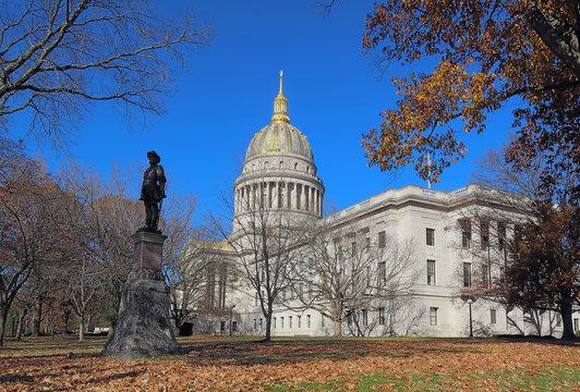 West Virginia capitol building in Charleston