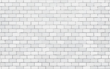 white brick wall vector illustration background