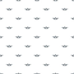 Phenix wing pattern vector seamless repeat for any web design