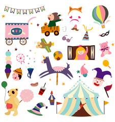 Circus items
