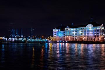 night Saint-Petersburg