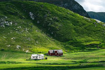 Bauernhöfe in Norwegen