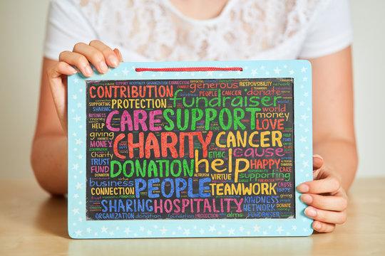 Spenden sammeln bei Fundraiser für Charity Projekt