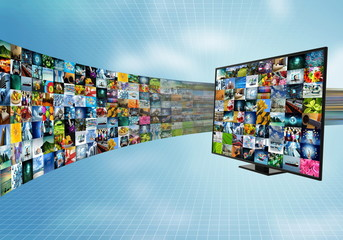 Internet broadband and smart television entertainment