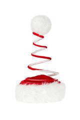 Single Santa Claus red hat