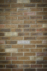 Brown brick texture background for wall & building