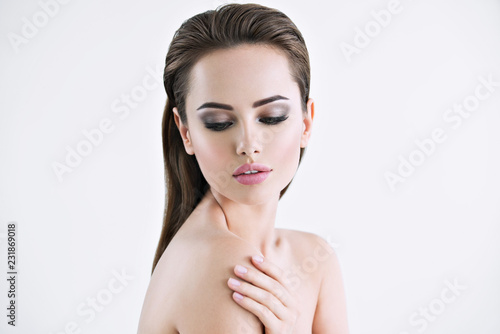 Beautiful Young Girl With Beauty Face Stock Photo And Royalty Free