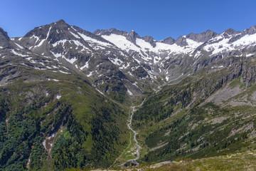 Rainbachtal mit Richterhütte und Schwarzer Wand