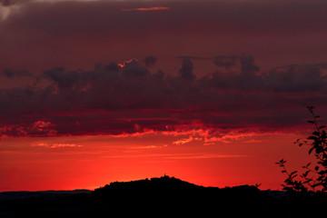 Amöneburg im Morgenrot