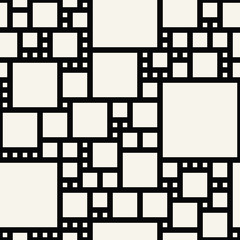 abstract seamless geometric vector square pattern