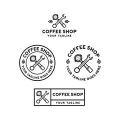 coffee shop logo design inspiration