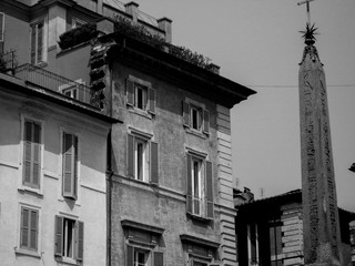 Old houses, Rome