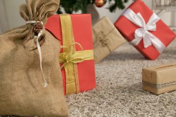 Christmas tree decor gifts new year holidays winter