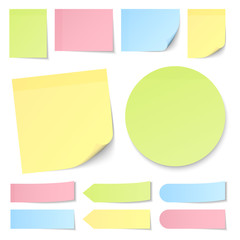 Stick Notes Color Mix Collection