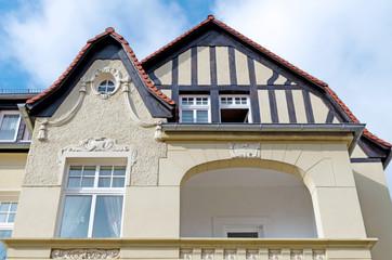 Facade of an Old House