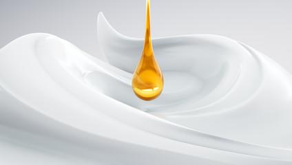 Hochwertige Creme mit Serum