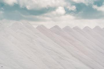 Salz mit Wolken