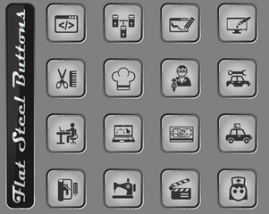 courses icon set