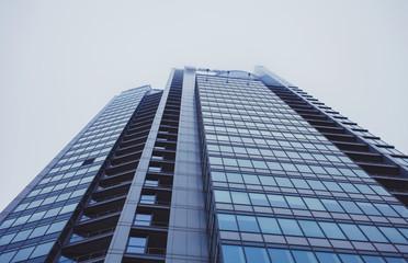 Fototapeta glass architecture of modern building.