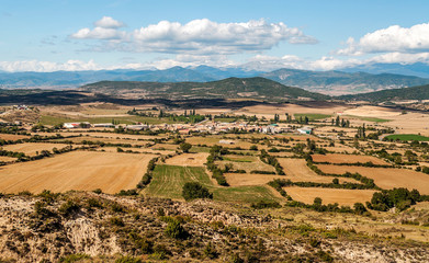 Mountains of the Pyrenees in Spain