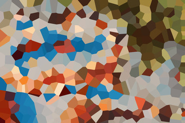 Abstract color illustration