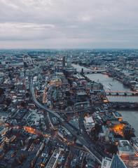 Bird's Eye View of London