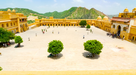 Amber Fort primary courtyard