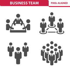 Business Team Icons