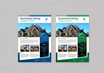 Real Estate Flyer Layout