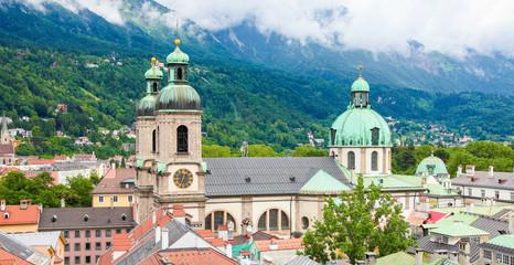 Dom in the center of Innsbruck, Austria