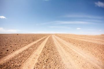 Fototapeta sahara desert road