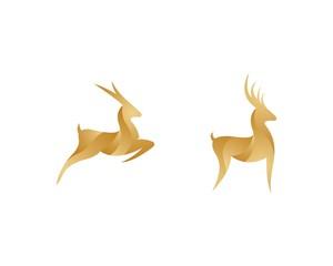 Deer symbol illustraation