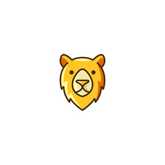 Funny Unique Character Face Bear