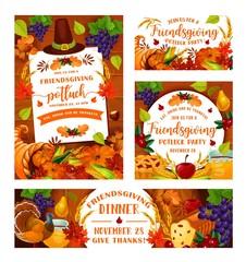 Friendsgiving potluck, Thanksgiving dinner party