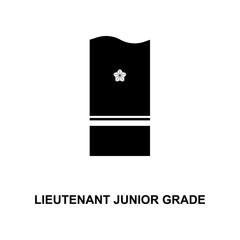 japan lieutenant junior grade military ranks and insignia glyph icon