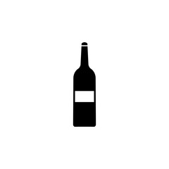 Alcohol bottle icon. Element of winter tourism. Premium quality graphic design icon. Signs and symbols collection icon for websites, web design, mobile app