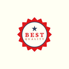 Best quality award stamp vector
