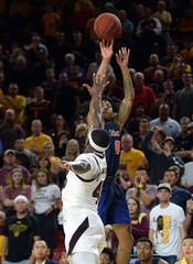 NCAA Basketball: Cal St. Fullerton at Arizona State