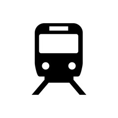 train,railway icon / public information symbol