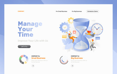 Time Management Web Page