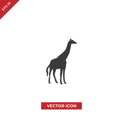 Giraffe vector icon
