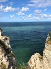 Mare di Étretat, Normandia, Francia
