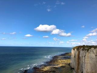 Scogliere di Étretat, Normandia, Francia