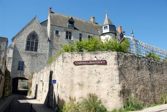 Château de beaugency, Beaugency, ville du Val de Loire, département du Loiret, France