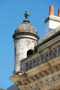 Tourelle de l'hôtel de Ville, Beaugency, ville du Val de Loire, département du Loiret, France