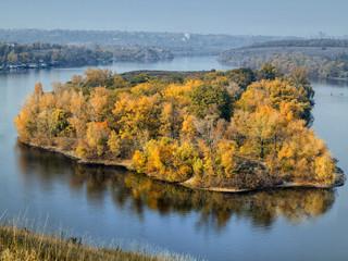 Autumn landscape, all the colors of autumn