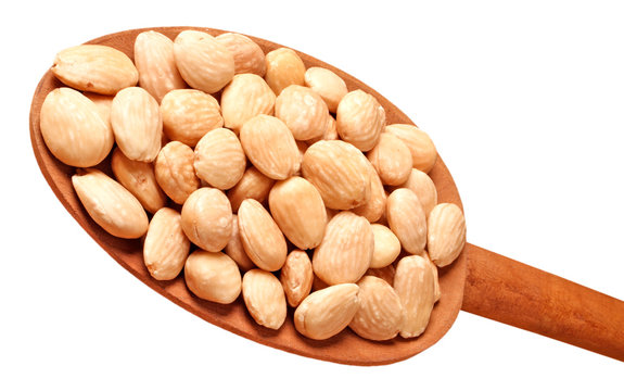 ROASTED MARCONA ALMONDS CUT OUT