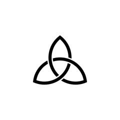 Trinity logo vector illustration