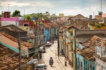 Street view of Trinidad, Cuba
